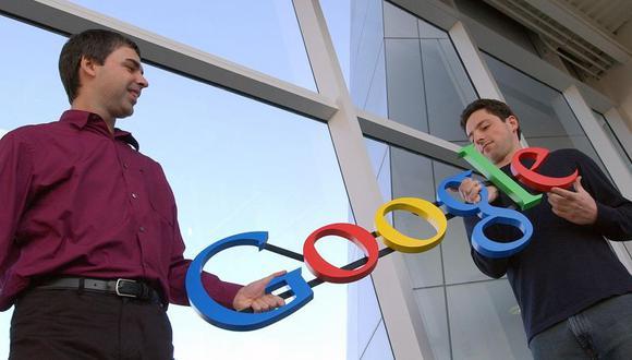 Larry Page y Sergey Brin son los fundadores de Google. (Foto: AP)
