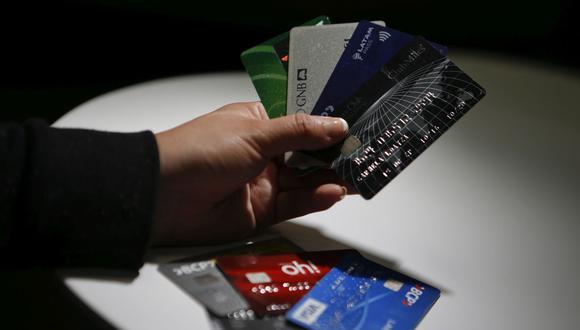 Tarjetas de crédito. (Foto: GEC)