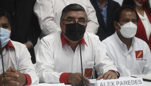 """""""El voto de confianza genera tranquilidad y eso es lo que tenemos que evaluar finalmente"""", dijo Alex Paredes. (Foto: GEC)"""