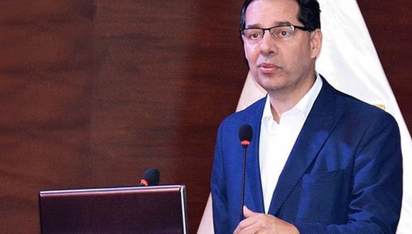 Jaime Gálvez Delgado, ministro de Energía Minas