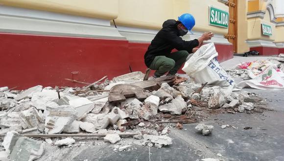 Numerosas familias de Piura resultaron afectadas por el sismo registrado el pasado 30 de julio. (Foto: Difusión)