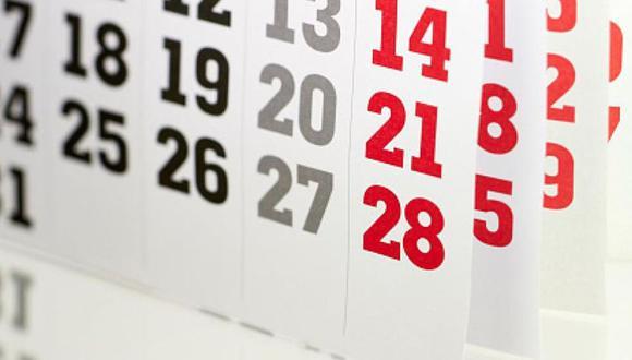 Los peruanos gozarán un total de 12 días feriados distribuidos en los diferentes meses del próximo año. (Foto: Getty)