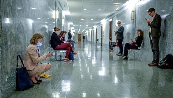 Distanciamiento social. (Foto: Reuters)