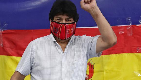 Evo Morales dice que su regreso a Bolivia podría ser el 9 de noviembre. (Foto:AFP).