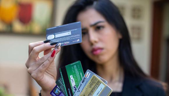 Usualmente las personas utilizan toda la línea de crédito en un primer uso, lo cual no es recomendable.  (Foto: GEC)