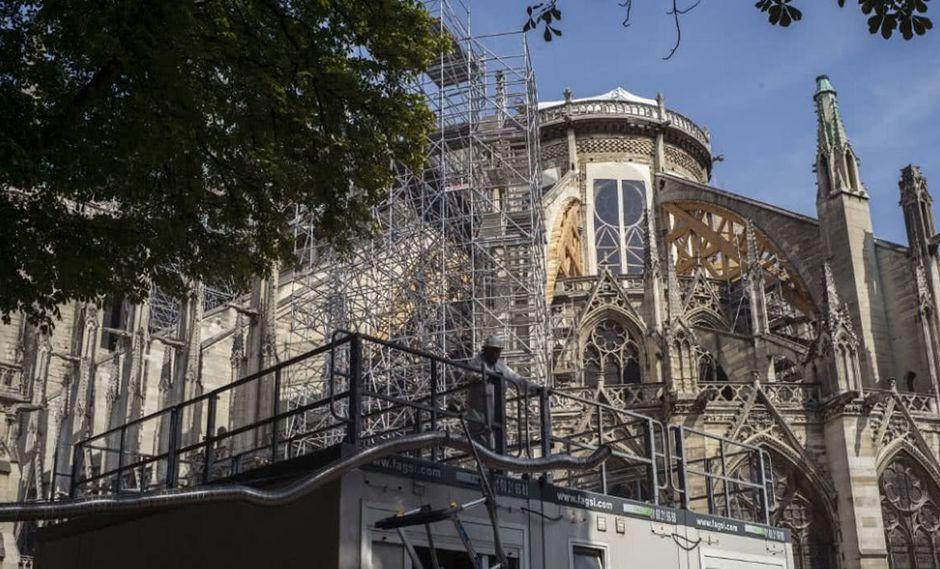 Notre Dame . Foto: AFP
