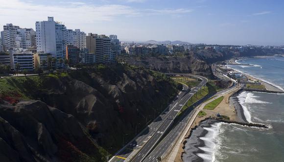 La cuarentena decretada por el coronavirus ha dejado vacías las calles de Lima. (Foto: GEC)