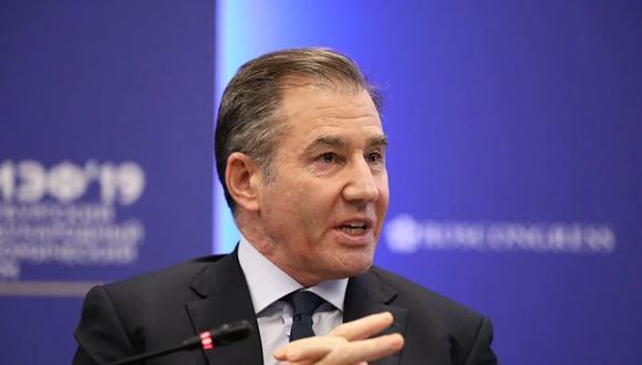 Ivan Glasenberg, CEO de Glencore. (Bloomberg)