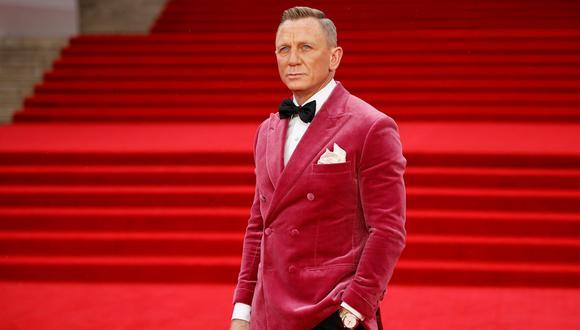 """Daniel Craig en la alfombra roja de """"No Time To Die"""" (""""Sin tiempo para morir""""), desarrollada en el Royal Albert Hall de Londres. Esta será la última cinta en la que encarnará al agente 007, James Bond. Foto: TOLGA AKMEN / AFP."""