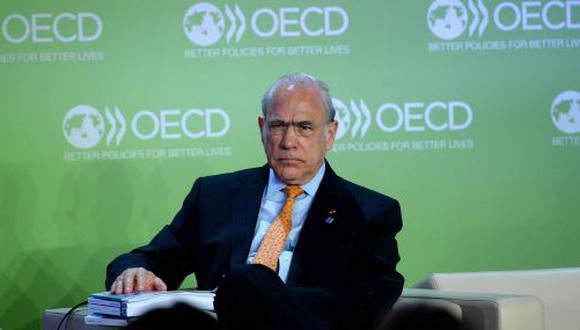 Ángel Gurría, secretario general de la OCDE. (AFP)