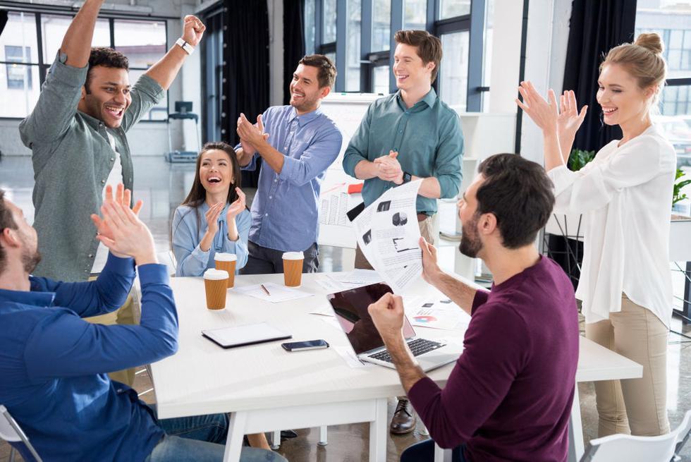 El éxito de las empresas comienza por las personas que la conforman: ¿tienes a las personas correctas, en los puestos correctos, haciendo las tareas correctas? Un gran equipo comienza desde la contratación, seguido de capacitación y un constante entrenamiento. (Foto: Depositphotos)