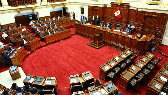Entre las propuestas aprobada figura el desarrollo de sesiones virtuales cuando haya Estado de Emergencia. (Foto: Congreso)
