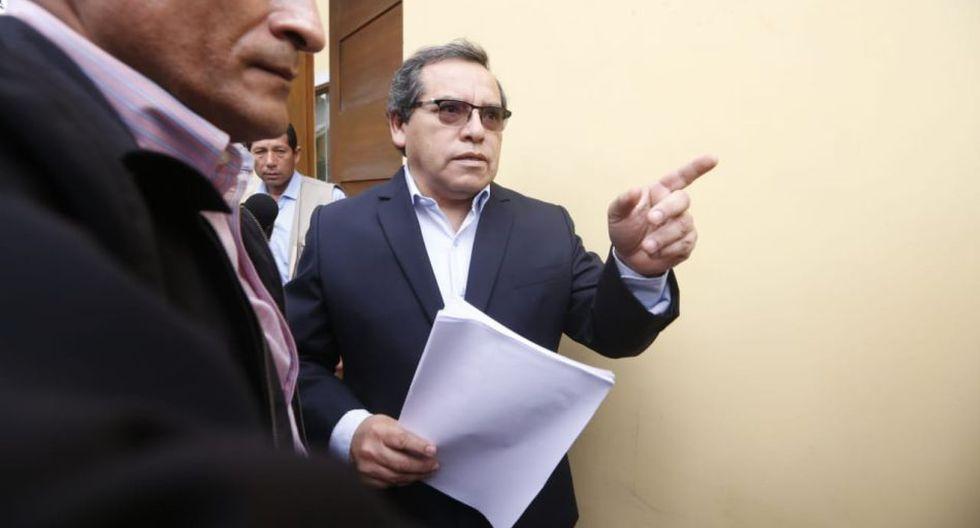 Ricardo Pinedo, exsecretario de Alan García, señaló que Luis Nava deberá presentar pruebas que acrediten su confesión. (Foto: Mario Zapata / GEC)