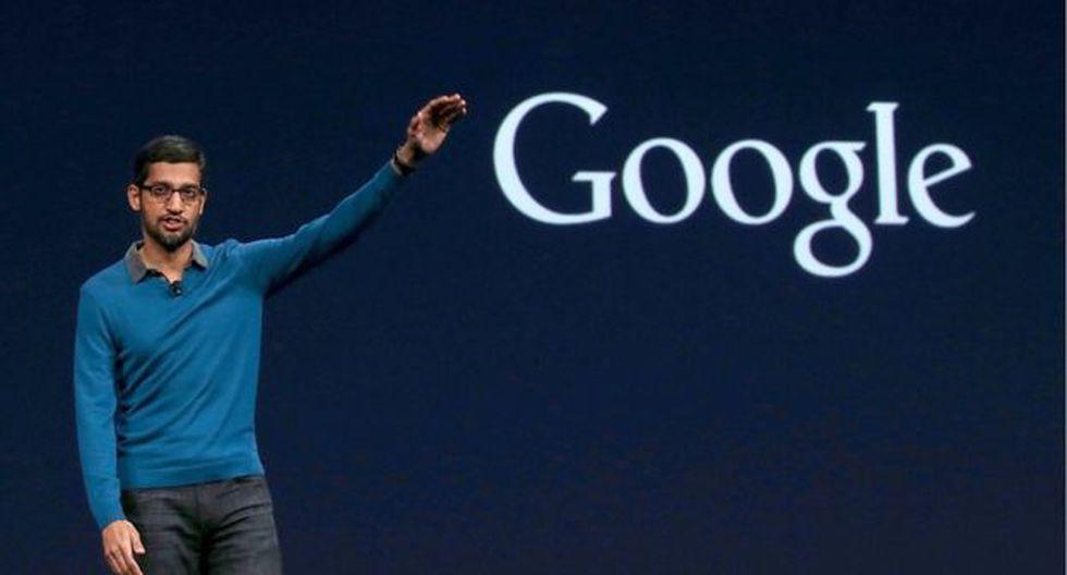 Sundar Pichai, CEO de Google. (Foto: Getty Images)
