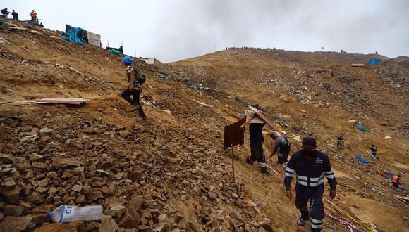 Más de 5.000 personas fueron desplazadas del Morro Solar. ( Fotos: HugoCurotto/ @photo.gec)