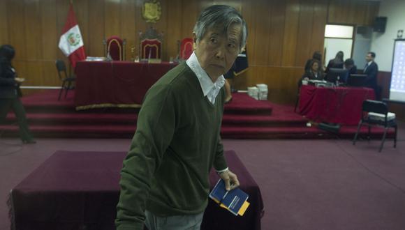 La audiencia de este lunes debe culminar con la noticia del inicio de una investigación judicial contra los implicados, entre ellos, Alberto Fujimori. (Fotos: GEC)