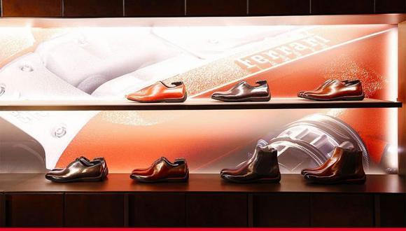 Berluti y Ferrari. (Foto: megaricos.com).