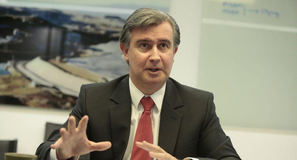 Manuel Fumagalli, presidente de la SNMPE. (Foto: GEC)