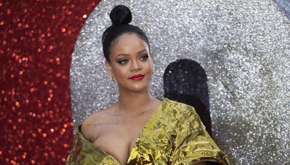 Rihanna ha recaudado 37.5 millones de dólares. (Foto: EFE)