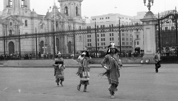 Chasquis, mensajeros del Inca. (Foto: Difusión)