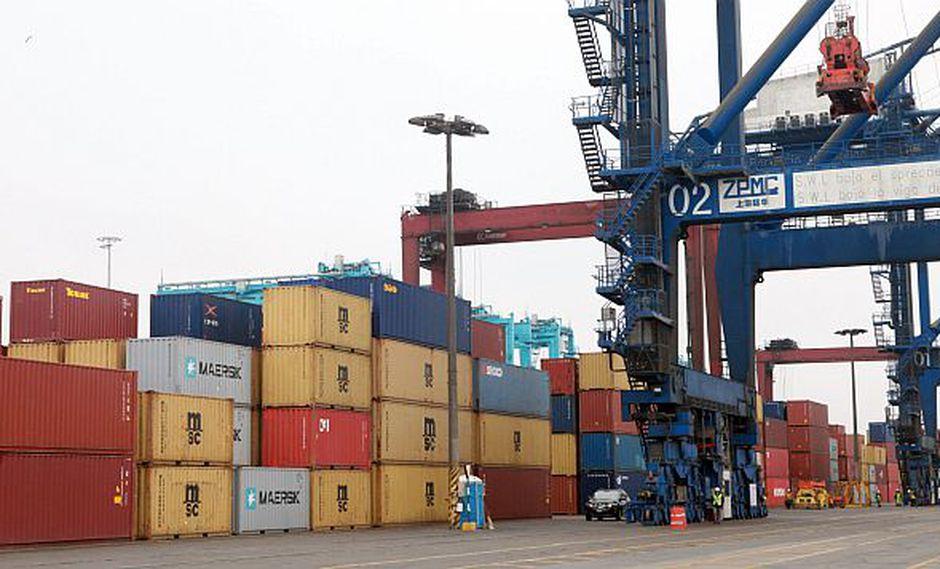 Las exportaciones peruanas sumaron US$3,719 millones en abril.(Foto: GEC)