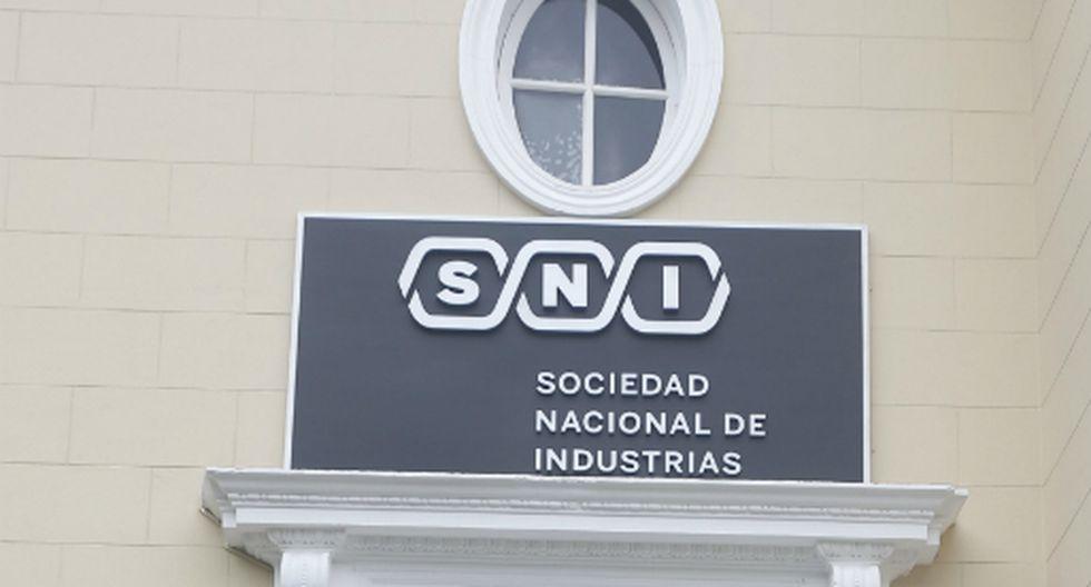 La Sociedad Nacional de Industrias (SNI). (Foto: GEC)