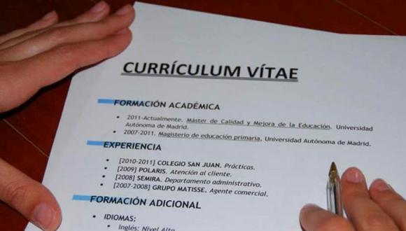 ¿Cómo hacer un buen Currículum vitae? En cuatro pasos sabrá qué hacer para tener más posibilidades de ser seleccionado. (Foto:imagineediciones.es)
