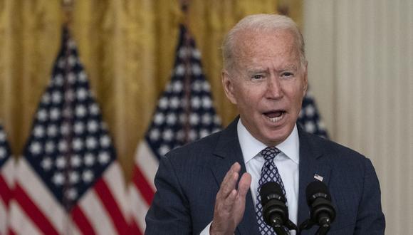 El presidente de Estados Unidos, Joe Biden. (ANDREW CABALLERO-REYNOLDS / AFP).