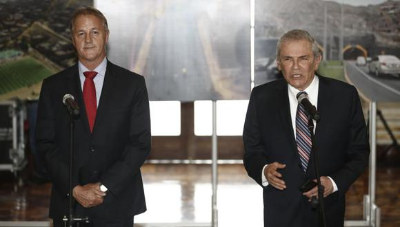 Luis Castañeda Lossio ya se reunió con Jorge Muñoz. (Foto: El Comercio)