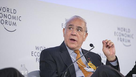 """Angel Gurría, de la OCDE: """"Europa se reinventa siempre. Se reconstruye de forma permanente diseñando nuevas instituciones. La integración es el camino de futuro. 2018 será un año de consolidación de los esfuerzos realizados""""."""