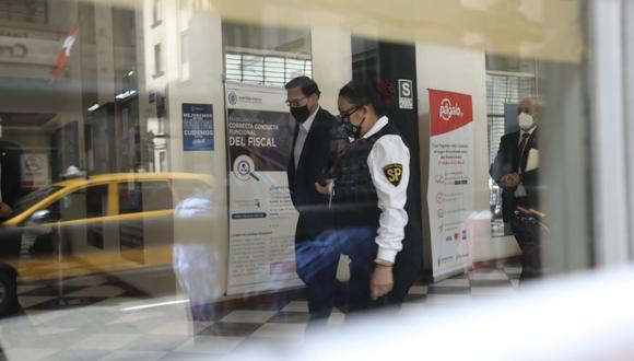 Martín Vizcarra respondió por cuatro horas a las preguntas del fiscal Germán Juárez en el marco del caso Club de la Construcción. (Foto: GEC)