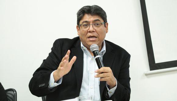 Elmer Cuba, economista y director del BCR. (Foto: Diana Chávez / GEC)