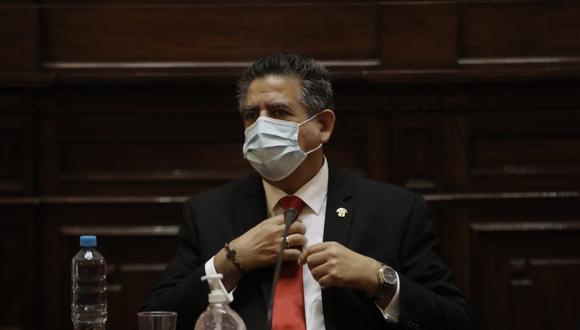 Manuel Merino expresó su preocupación por las declaraciones del primer ministro, Walter Martos, sobre las Fuerzas Armadas. (Foto: Congreso)