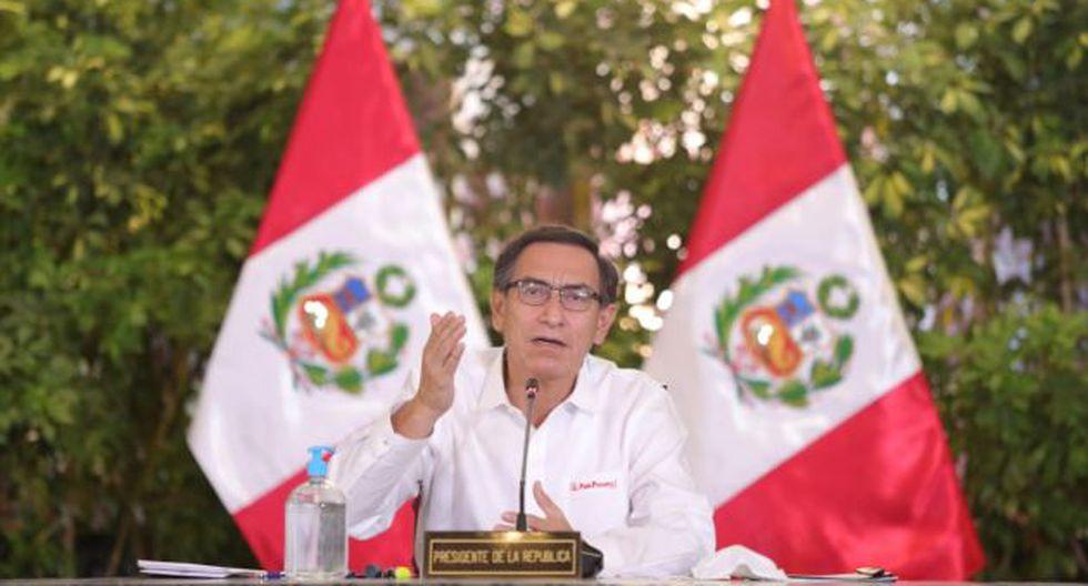 El presidente Martín Vizcarra se pronunció luego que el Congreso archivara los proyectos de ley para deshacinar penales. (Foto: GEC)