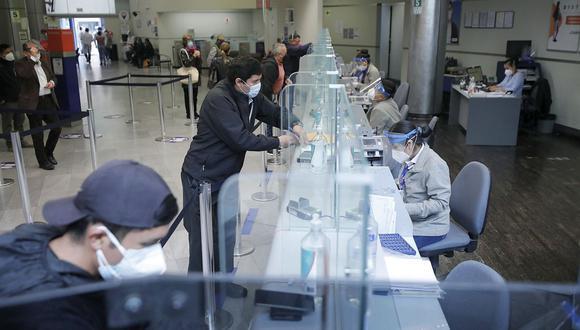 Trabajadores. Los que tengan depósitos CTS de hasta S/ 5,000 probablemente retirarán todo su fondo. (Foto: GEC)