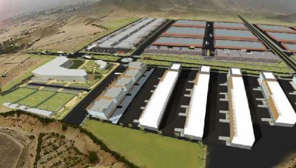 Planes. Tras venta de más del 70% de lotes en La Chutana, se planea sumar otros parques industriales. (Foto: Captura)