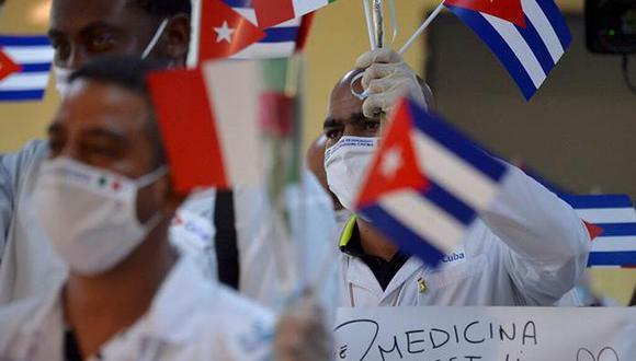 Médicos cubanos. (Foto: Difusión)