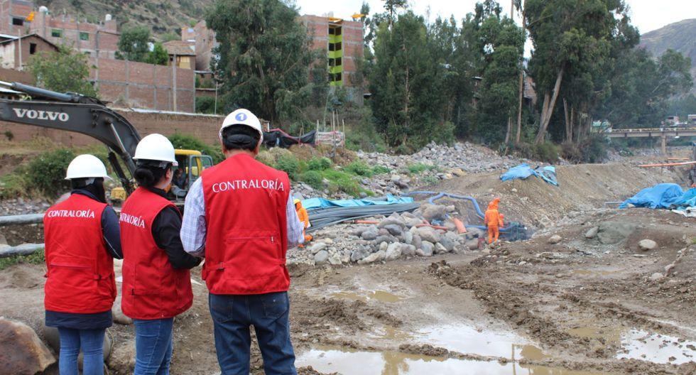 La Contraloría inspeccionó las obras de la reconstrucción. (Foto: Contraloría)