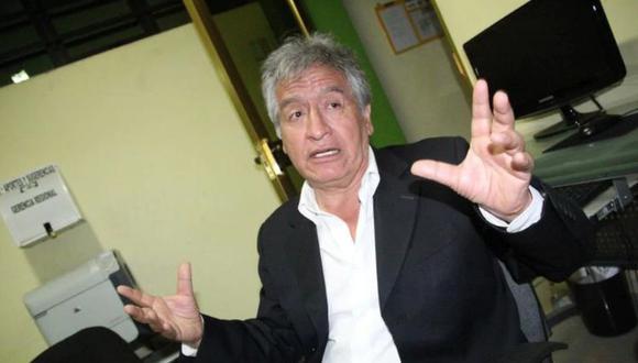Virgilio Acuña fue quien hizo el anuncio de que UPP no participará en la reunión con el presidente Martín Vizcarra. (Foto: GEC)
