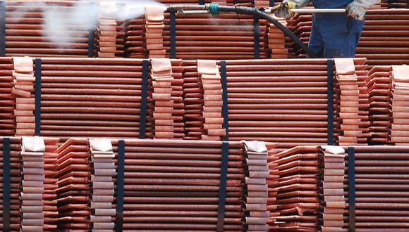 China corresponde a casi la mitad del consumo global de cobre, estimado en 24 millones de toneladas este año. (Foto: GEC)