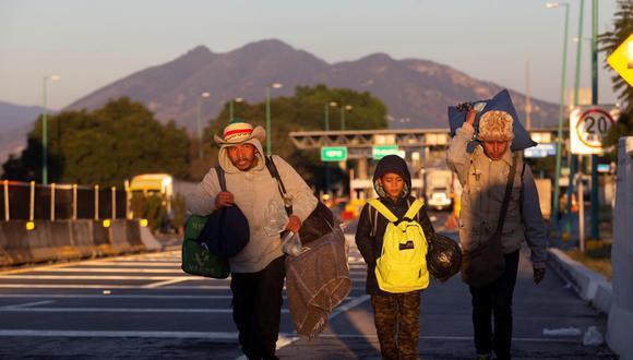 Migrantes. (Foto referencial: EFE).