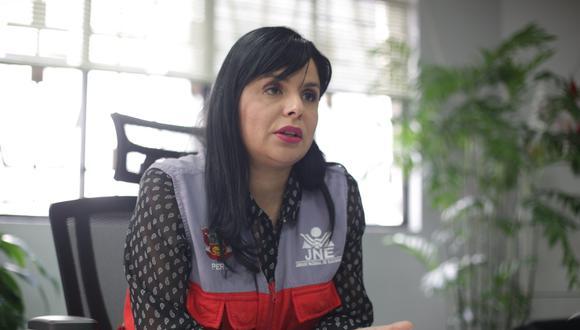 Yessica Clavijo señaló que los JEE cruzarán la información de las hojas de vida de los candidatos con las cortes de justicia a nivel nacional