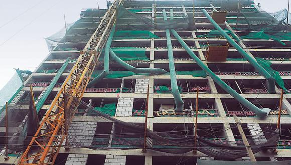Construcción en abril. Se ubicó 7.4% por encima de nivel precovid. (Foto: GEC)