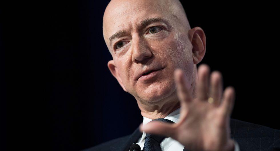 Jeff Bezos, dueño de Amazon. (Foto: AFP)