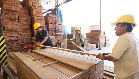 La Sociedad Nacional de Industrias indicó que la fabricación de muebles tuvo un repunte en este primer trimestre del año. (Foto: GEC)