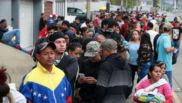 Venezolanos en el Perú. (Foto: USI)