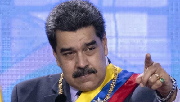 Nicolás Maduro, presidente de Venezuela. (Bloomberg)