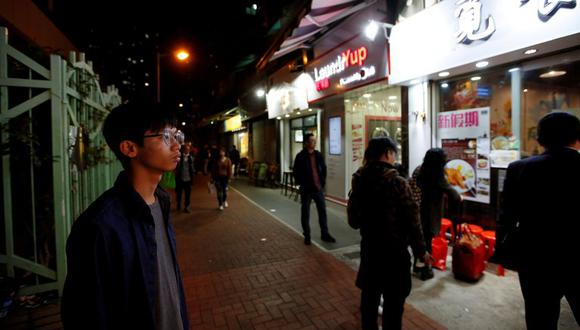 """Chung era un antiguo miembro de """"Student Localism"""", grupúsculo hoy disuelto que pide la independencia de Hong Kong respecto a China continental. (Foto: Reuters)"""