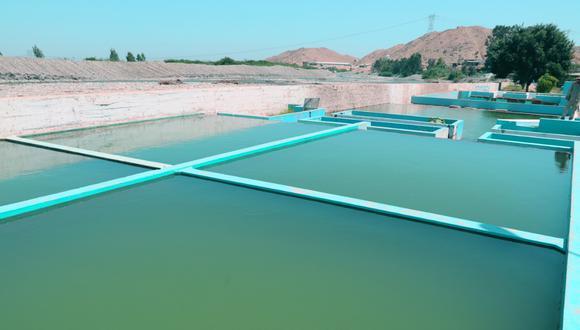 Planta de agua potable (Foto: Difusión)