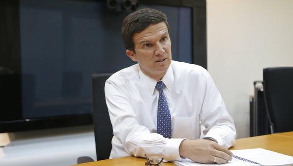 Viceministro de Minas, Miguel Inchaustegui. (Foto: USI)